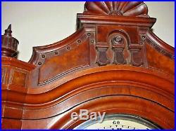 ALL ORIGINAL ANTIQUE SETH THOMAS #16 JEWELERS WALL REGULATOR Circa 1885