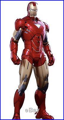 ALL PLASTIC IRON MAN MARK 6 Cosplay Costume Suit Adult Pair Armor