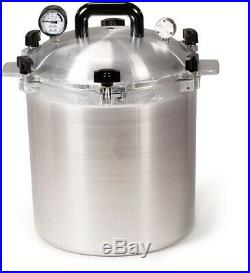 All American No. 925 Pressure Canner & Cooker 25 qt