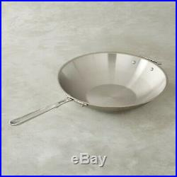 All-Clad 6414 SS Copper Core 5-Ply Bonded Dishwasher Safe 14 Wok