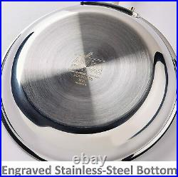 All-Clad D3 Stainless Steel 10-Pc Set, 401488 Brand New SEALED