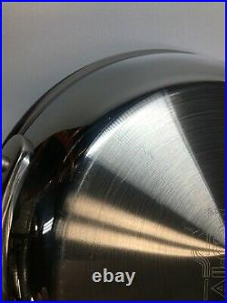 All-Clad Stainless Steel D3 and D5 Fry Pans, Your Choice of 8- 9- 10 12