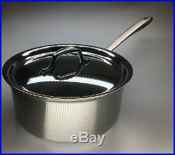 All-Clad TK 5-Ply Copper Core 3-qt sauce pan with Lid. Its a Perfect Match