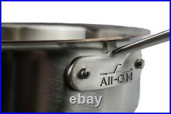 All-Clad TK 5-Ply Copper Core 5-qt Sauteuse with D5 Lid