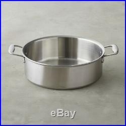 All-Clad TK 8-Qt. 5-Ply Stainless-Steel Tall Rondeau with All-clad Standard lid
