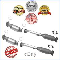 All Four Catalytic Converter + Gasket for Nissan Frontier Pathfinder Xterra 4.0L