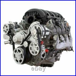All Inclusive Chevy LT1 Generation V Serpentine System L83 L86 5.3L 6.2L LS