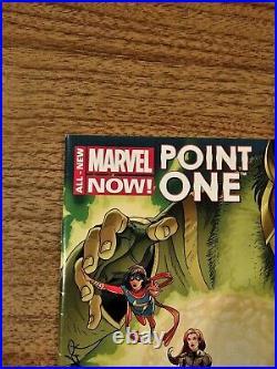 All New Marvel Now Point One #1 1st. Appearance Kamala Khan Sharp Vf+ Or Better