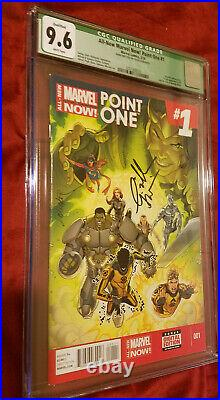 All-New Marvel Now! Point One #1 CGC 9.6 Green Label Signed 1st Kamala Khan