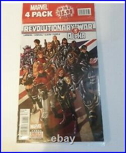 All New Marvel Now Point One #1 Marvel 4 Pack Sealed! 1st Full Kamala Khan