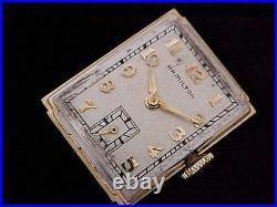 All Original 1941 Hamilton Gilbert 14 Karat Solid Gold In Signed Gilbert Case