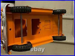 All Original 1956 Tonka Toys Hi Way Pickup W. Chains With Funny Story Rare Toy