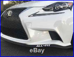 All-fit Universal Lip Kit Aftermarket Car Spoiler Splitter Vehicle Ez Air Body