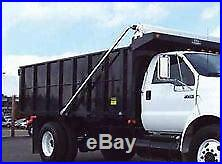 Aluminum Electric 4-Spring Dump Truck Flip Tarp System. ALL OPTIONS INCLUDED