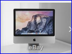 Apple iMac 20 All-in-one desktop Core2Duo 2.66GHz 4GB 320GB A1224 Free Office