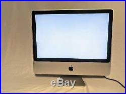 Apple iMac / All-In-One 20 Core 2 Duo 2.4GHz 4GB RAM FREE MS OFFICE 2016
