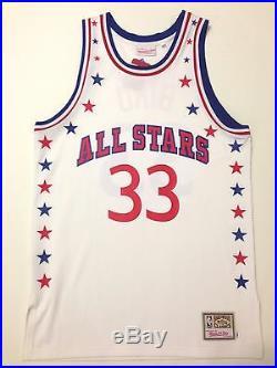 Authentic Mitchell Ness Larry Bird Boston Celtics All Star White Jersey 44