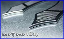BAD DAD 966 FLOORBOARDS CHROME fits all FLH baggers
