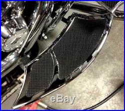 BAD DAD 992 FLOORBOARDS CHROME fits all FLH baggers