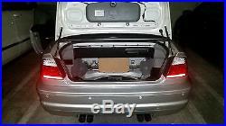 BMW E46 CONVERTIBLE SUBWOOFER MDF Trunk ENCLOSURE BOX 12 10 8 (ALL 3 SERIES)