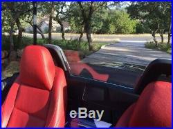 BMW Z4 (All Z4 Models) Rear window Wind Deflector (CLEAR)