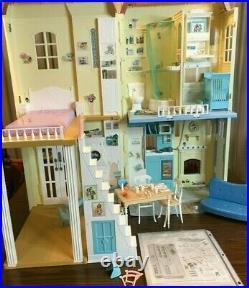 Barbie Happy Family Neighborhood Smart House, Great Shape All Sounds Lights Work