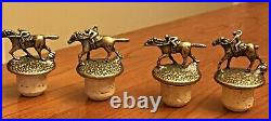 Blanton's Cork Stopper And Bottle Glorifier Display Includes All Horse Stoppers