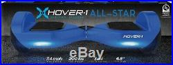 Blue Hoverboard All Star Electric Scooter Self Balance Board LED Lights Hover