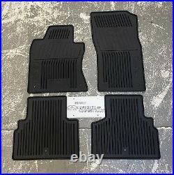 Brand New OEM 2014-2015 Infiniti Q50 Black All Season Floor Mats 999E1-J2000