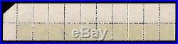 Breathtaking Scott #264 Wide Top Plate #177 Bep Imprint Strip 10 All Mint Og Nh