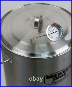 Brewer's Edge Mash and Boil All Grain Brewing System With Pump 8G (110V) Beer
