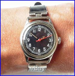Bulova WW2 RAF Pilot Watch 6B/234 type A11 1943 10AK Serviced all original watch