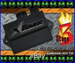 CDI Box High Performance Rev Module for Kawasaki KFX700 All Years Stage 3