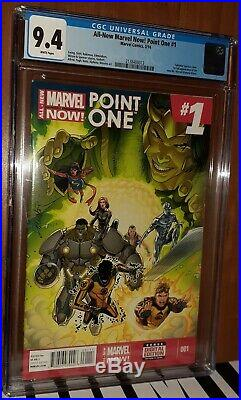 CGC 9.4 All-New Marvel Now! Point One # 1. First Full new Ms. Marvel Kamala Khan