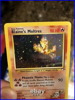 COMPLETE Pokemon GYM HEROES Card Set /132 All Holo Rare Entire Collection