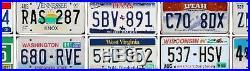 COMPLETE SET 50 UNITED STATES License Plates ALL 50 USA States + BONUS Plate