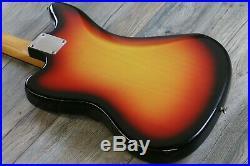 Case Queen! Vintage Fender Jaguar 1965 Sunburst One Owner All Original + OHSC