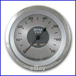 Classic instruments all american original series 6 gauge set aw01src speedo tach