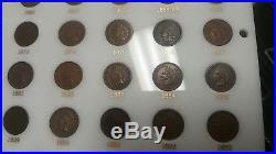 Complete 1857-1909 Indian Penny Date Set All Higher Grade Coins