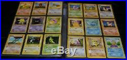 Complete Full Shadowless Base Set All # 102/102 Pokemon Trading Cards TCG Games
