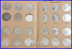 Complete MORGAN DOLLAR 95 Coin Set withall Dates & Mintmarks (-1895) Dansco Albums