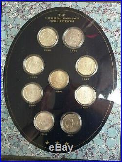 Complete Morgan Folder All 19 P Mint Coins