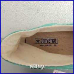 Converse All Star US 8.5 Vintage Made in USA BNIB Rare Unique 80's Chuck Taylor
