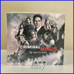 Criminal Minds The Complete Series 1-15 DVD 85-Disc Box Set All 15 Seasons