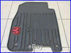 DODGE RAM WithRed RAM Logo Crew Cab Front Rear All-Weather Slush Floor Mats MOPAR