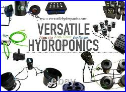DWC Hydro Grow System 4pk With Reservoir. All Fittings/ Tubing Media Included