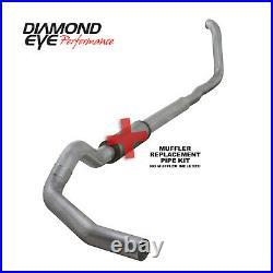 Diamond Eye 5 Turbo Back Single Exhaust witho Muffler for 99-03 Ford 7.3L Diesel