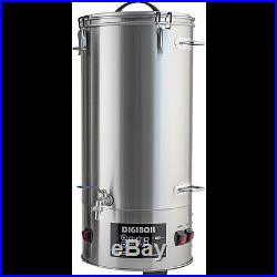 DigiBoil Electric Kettle 35L/9.25G (110v)- Beer Brewing, Distilling All In One