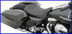 Drag Specialties Solo Seat Low-Profile Smooth for All Harley Touring 08-19 FLHT