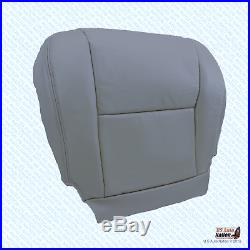 Driver Bottom All Gray Leather Replacement Cover Fits 2005 2006 Toyota Tundra